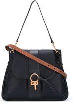 Chloé Lexa cross-body bag - women - Cotton/Lamb Skin - One Size