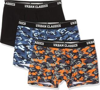 Urban Classics Men's Boxer Shorts 3-pack Unterhosen Underwear