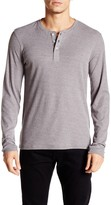 Public Opinion Long Sleeve Rib Henley