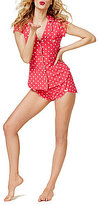 Betsey Johnson Sweet Dreams Flirty Short Pajamas