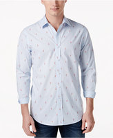 Club Room Men's Flamingo-Print Shirt, Only at Macy's