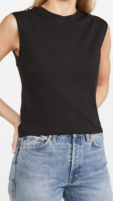 Frame Le High Rise Muscle Tee