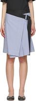 Rag & Bone Blue Lenna Skirt