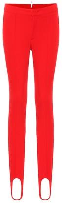 MONCLER GRENOBLE Stirrup stretch-twill ski leggings
