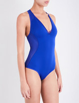Stella McCartney Classic neoprene and mesh swimsuit