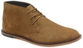 Frank Wright Tobacco 'walker' Flat Lace Up Boots