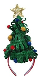 Bloomingdale's Christmas Tree Headband - 100% Exclusive