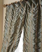 "Home Silks 96""L Kelly Curtain"