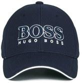 BOSS GREEN Men's Large Logo Cap Navy