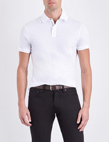 Ralph Lauren Purple Label Slim-fit cotton-piqué polo shirt