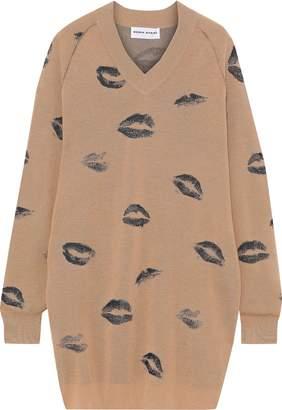 Sonia Rykiel Wool-blend Jacquard Mini Dress