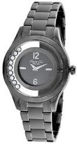 Kenneth Cole New York Women's KC4966 Transparency Analog Display Japanese Quartz Black Watch