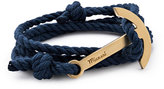 Miansai Men's Modern Anchor Rope Bracelet, Navy