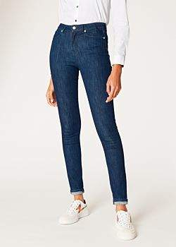 Paul Smith Women's Skinny-Fit Indigo Denim Jeans