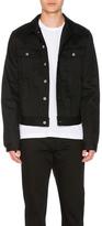 Acne Studios Tent Denim Jacket in Black.