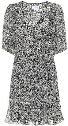 Velvet Saskia leopard-print minidress