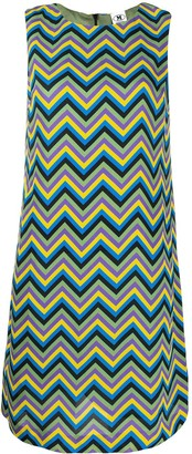 M Missoni Zig Zag Shift Dress