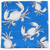 Eton Crabs Linen/Silk Pocket Square