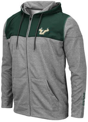 Colosseum Men South Florida Bulls Nelson Full-Zip Hooded Sweatshirt