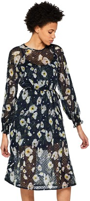 Private Label Amazon Brand - find. Women's Floral Dobby Dress