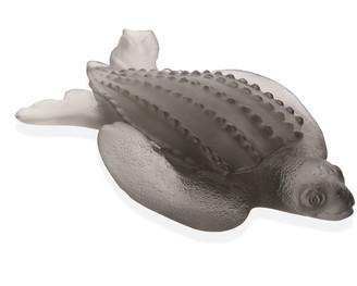 Daum Leatherback Turtle Figurine