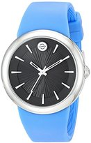 Philip Stein Teslar ' Quartz Stainless Steel and Silicone Automatic Watch, Color:Blue (Model: F36S-LCB-BL)