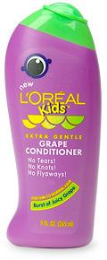 L'Oreal Paris Kids Extra Gentle Conditioner, Grape