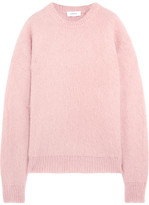 Carven Oversized Knitted Sweater - Baby pink