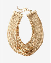 Express mesh knot necklace