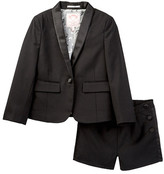 Appaman Tuxedo Blazer & Short Set (Toddler, Little Girls, & Big Girls)