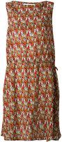 Societe Anonyme camouflage drawstring dress