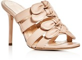 Charlotte Olympia Blyton Strappy Bow Slide Sandals