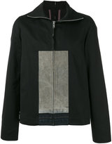 Rick Owens colourblock light jacket