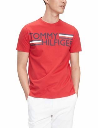 Tommy Hilfiger Men's Short Sleeve Graphic T Shirt