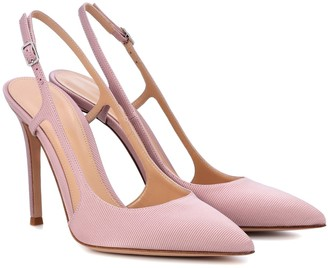 Gianvito Rossi Exclusive to mytheresa.com a Grosgrain slingback pumps