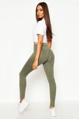 boohoo Basic Jersey Leggings