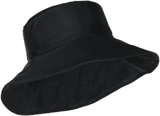 FLH Cute Bucket Rain Hat w/Buckle Accent 3.5 inch Wide Brim