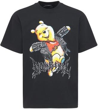 Dom Rebel Happy Cotton Jersey T-Shirt