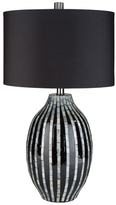 Surya Hollins Mother of Pearl Table Lamp