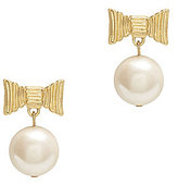 Kate Spade All Wrapped Up Pearl Drop Earrings