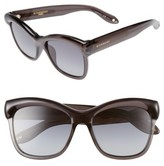 Givenchy Women's 55Mm Retro Sunglasses - Blue