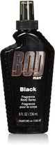 Parfums de Coeur Bod Man Black Fragrance Body Spray for Men 8-Ounce