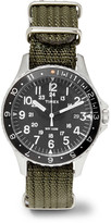 Timex - Navi Ocean Stainless Steel And Webbing Watch