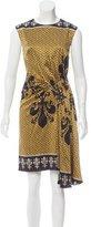 Nicole Miller Silk Midi Dress