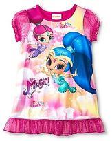 Nickelodeon Toddler Girls' Shimmer and Shine Nightgown Pink