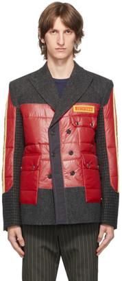 Junya Watanabe Red Pirelli Patch Blazer