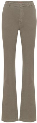 Loro Piana Alan stretch-cotton flared jeans