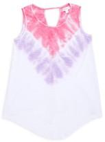 Design History Little Girl's & Girl's Tie-Dye Tank Top