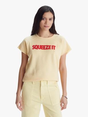 Mother The Short Sleeve Cut Off Hugger - Squeeze It - Sun Dress