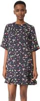 Sjyp Print Shirring Dress